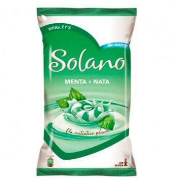Solano Menta y Nata sin azúcar Wrigley