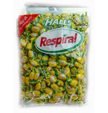 Respiral Halls Limón Mentol